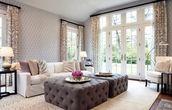 Элегантная современная мягкая мебель