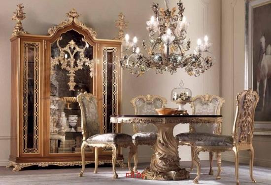 Элитная эксклюзивная мебель для обеденной зоны