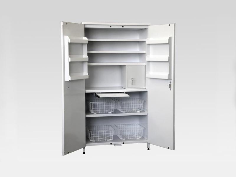 Этот вид шкафов устанавливают в физиотерапевтических кабинетах