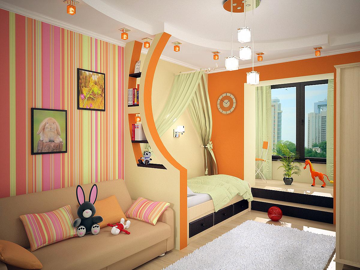 Фото дизайна детской комнаты