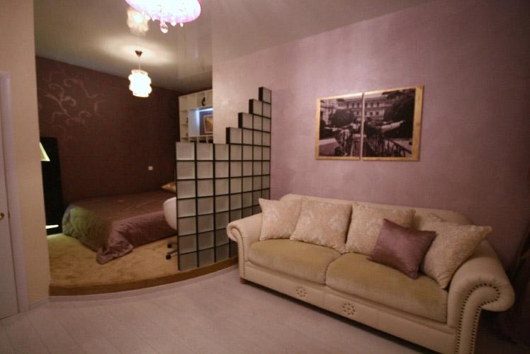 Фото гостиной-спальни