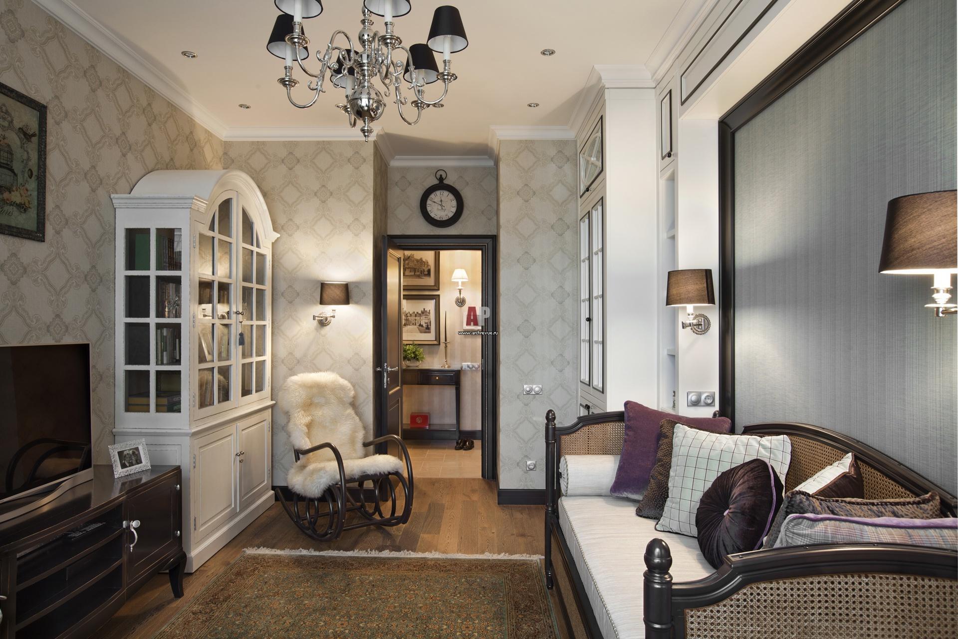Фото интерьера гостиной небольшой квартиры