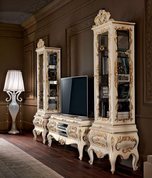Французская белая мебель