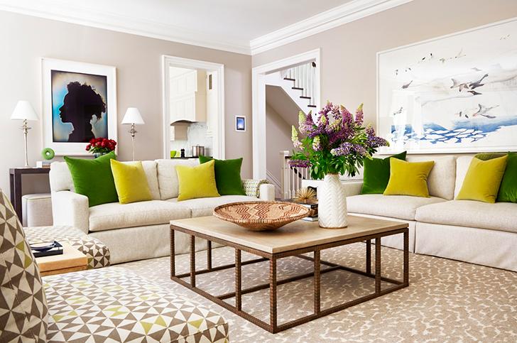 Где и как поставить мебель в гостиной