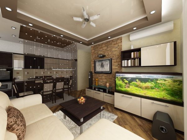 Где поставить диван в гостиной