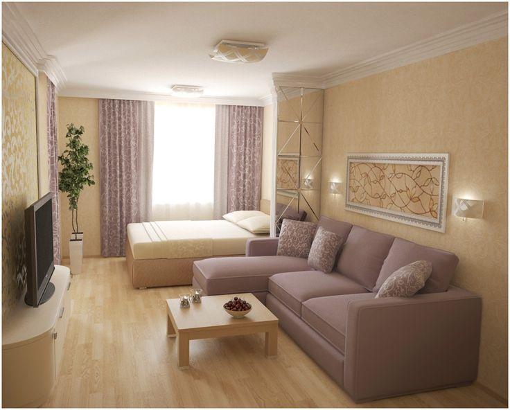 Где поставить диван в однушкк