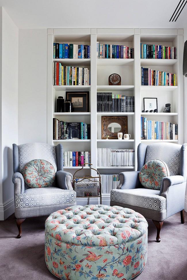 Где поставить кресла в небольшой комнате