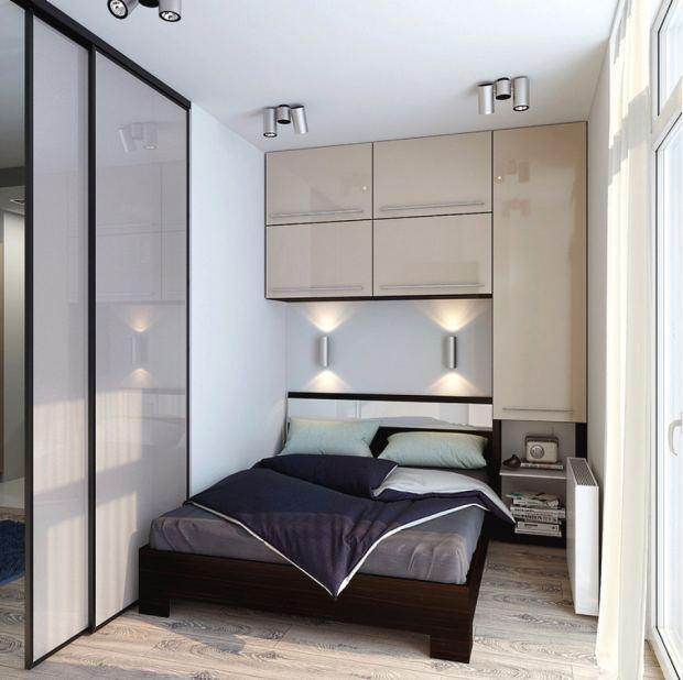 Где поставить кровать в малогабаритной спальне