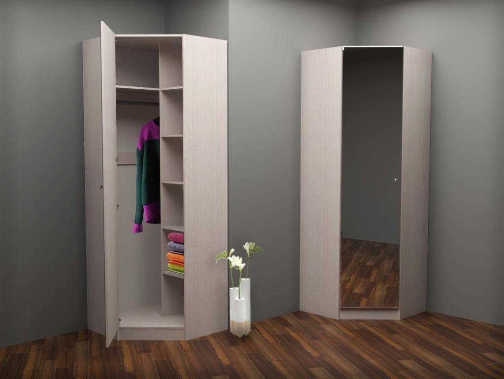 Где разместить угловой шкаф