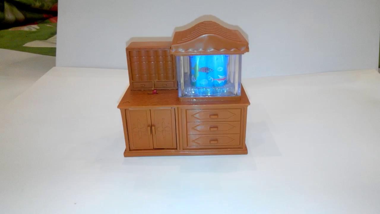 Гостевая комната для кукольного домика