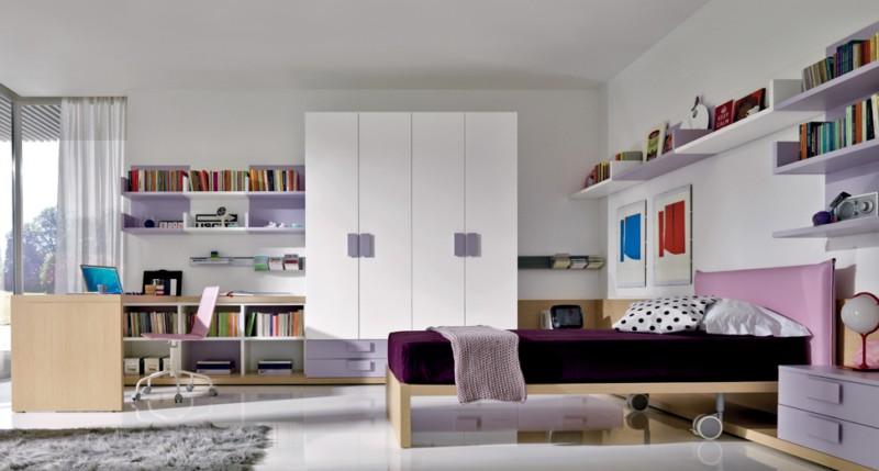 Идеи, вдохновения и фото интерьера подростковых комнат