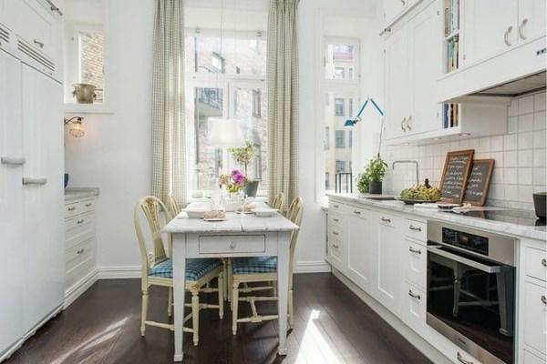 Идея оформленяи кухонного помещения