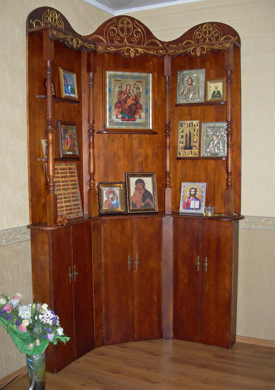 Иконостас в квартире своими руками