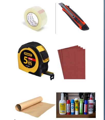 Инструменты для изготовления мебели из картона