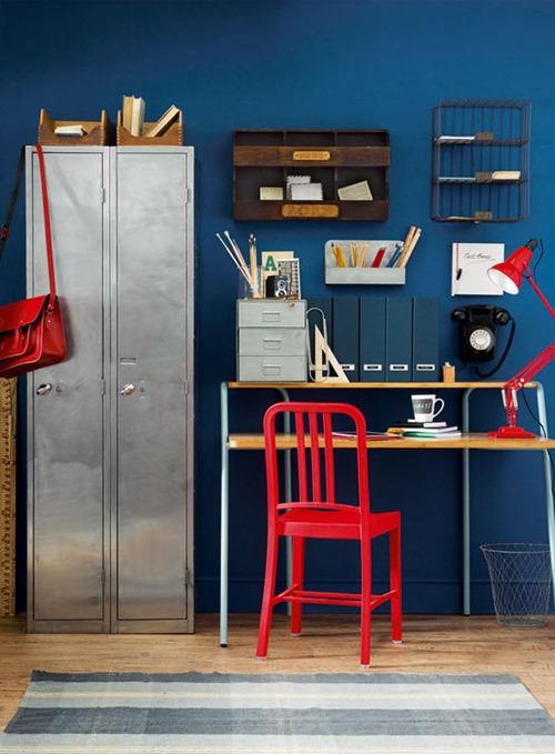 Использование металлических шкафов в офисном интерьере