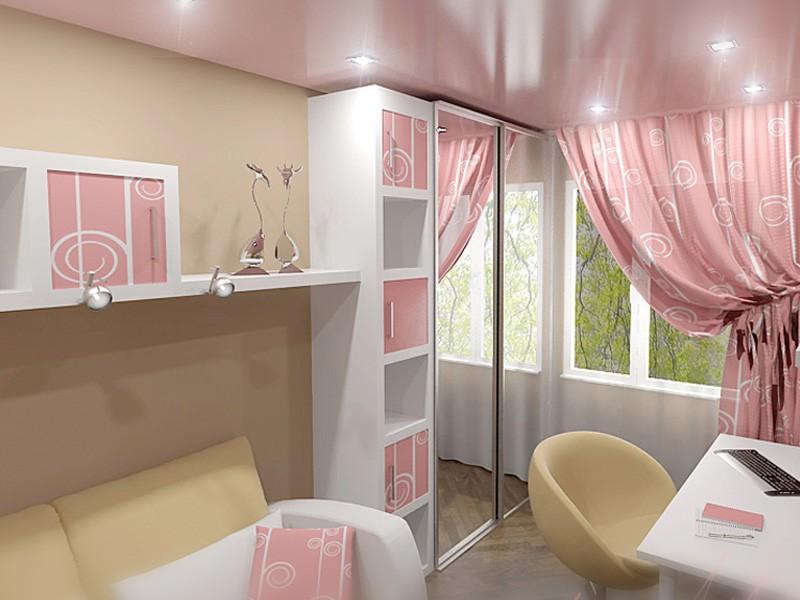 Как обустроить небольшую комнату для подростка