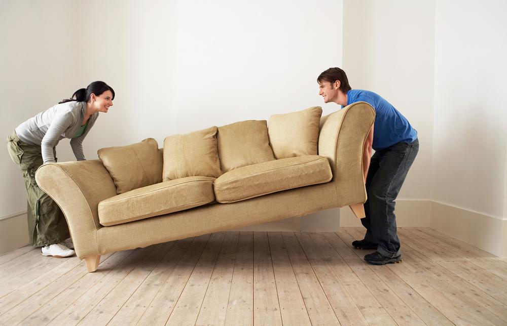 Как переставить мебель в квартире