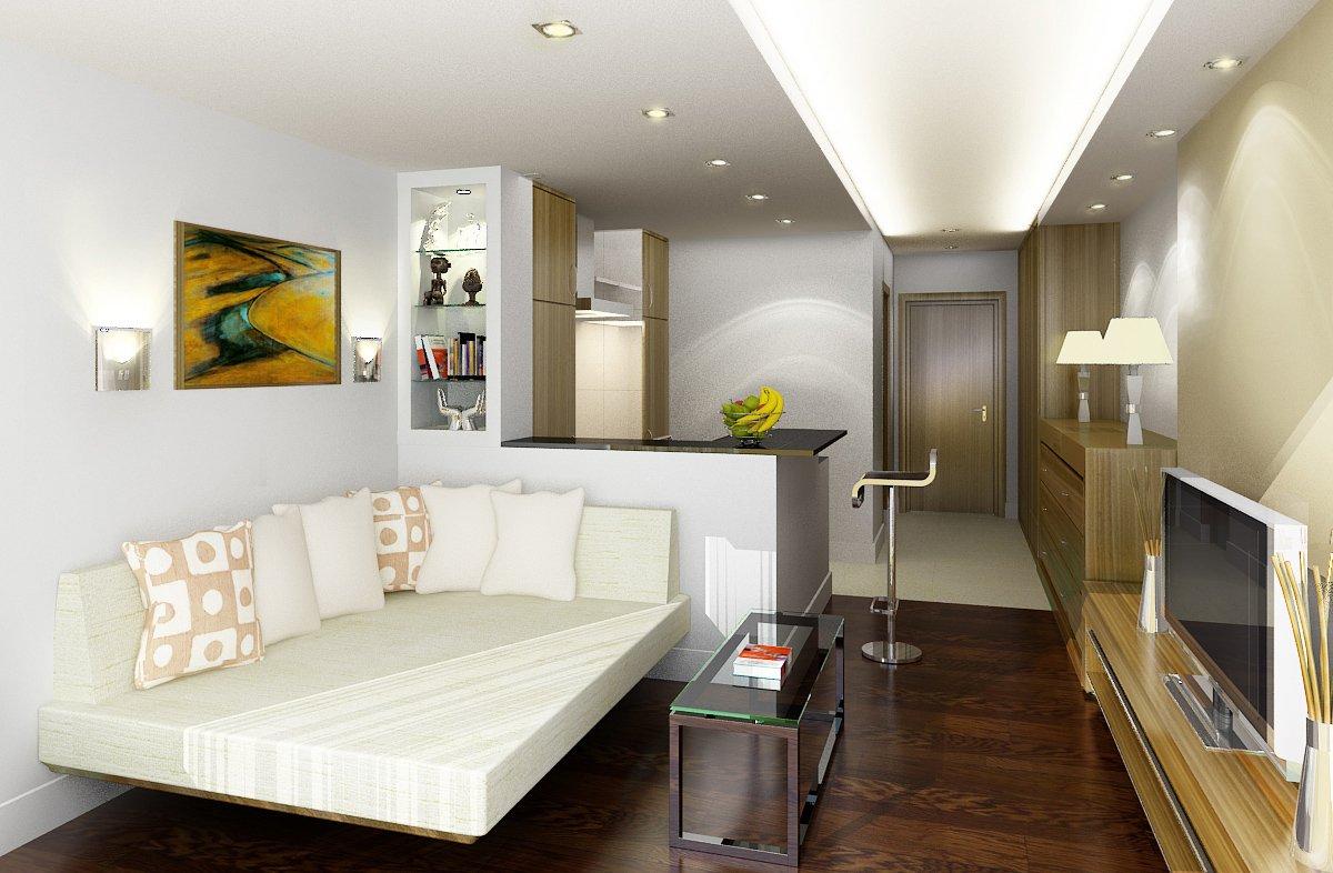 Как поставить мебель в небольшой квартире