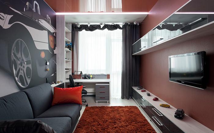 Как практично разместить мебель в небольшой комнате