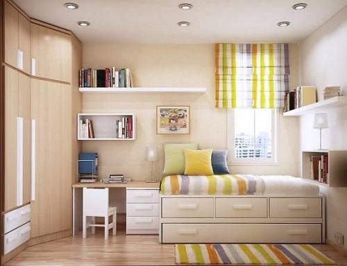 Как расставить мебель в небольшой комнате