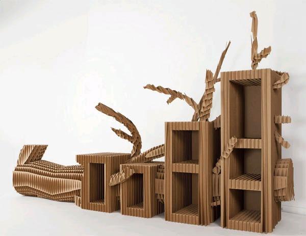 Как сделать мебель из картона самостоятельно