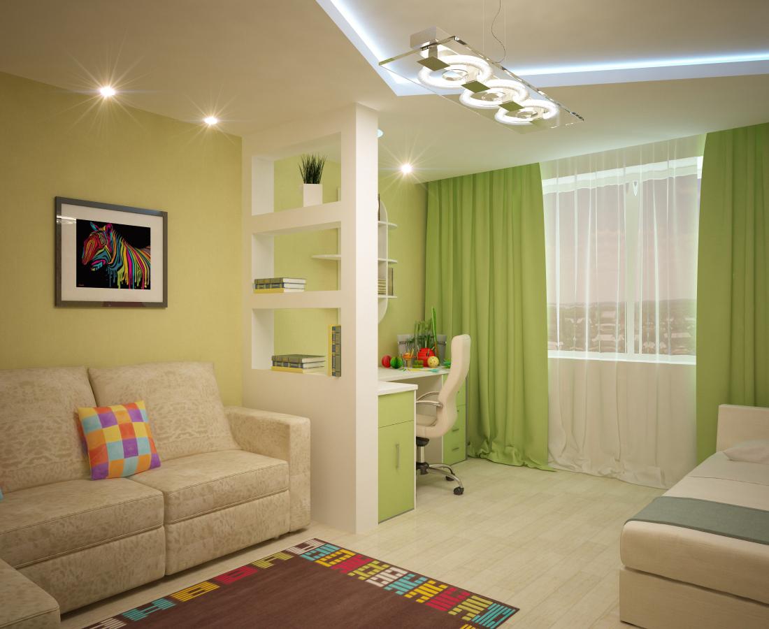 Как сделать удобную детскую комнату