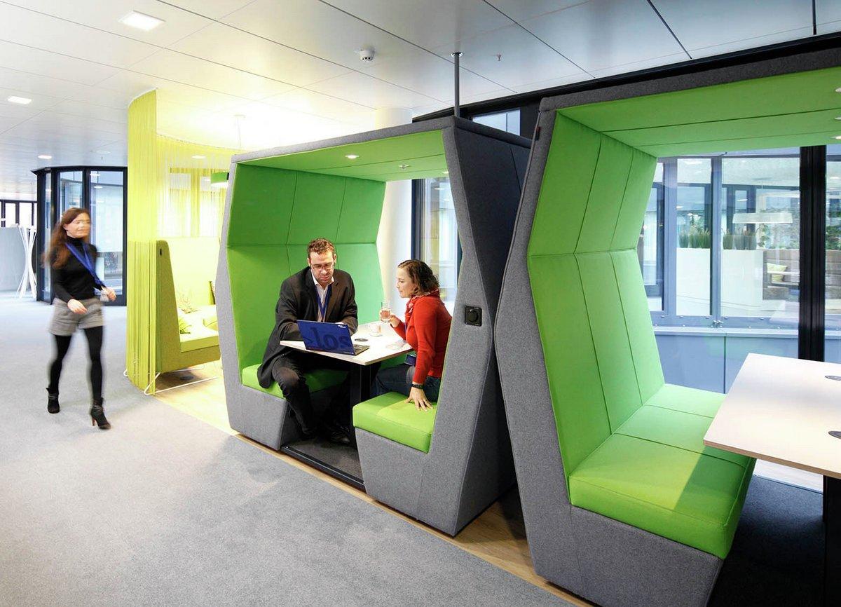 Как современно оформить дизайна офиса