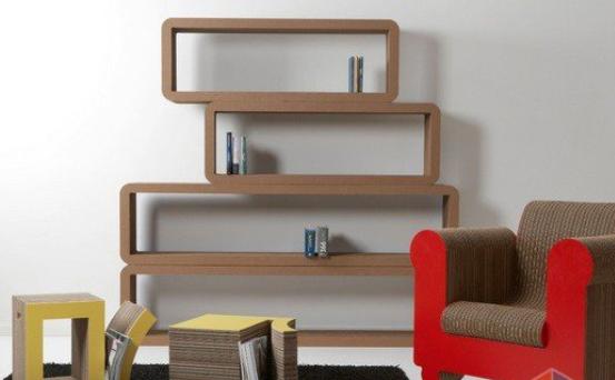 Картонная мебель для гостиной