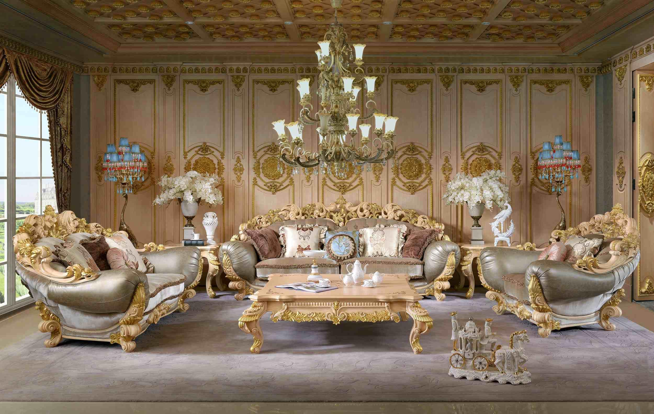 Классический внешний вид мебели