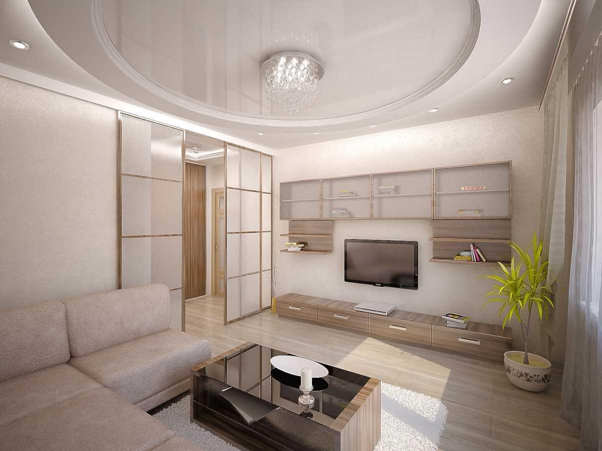 Классика в гостиной, оформленная в светлых тонах