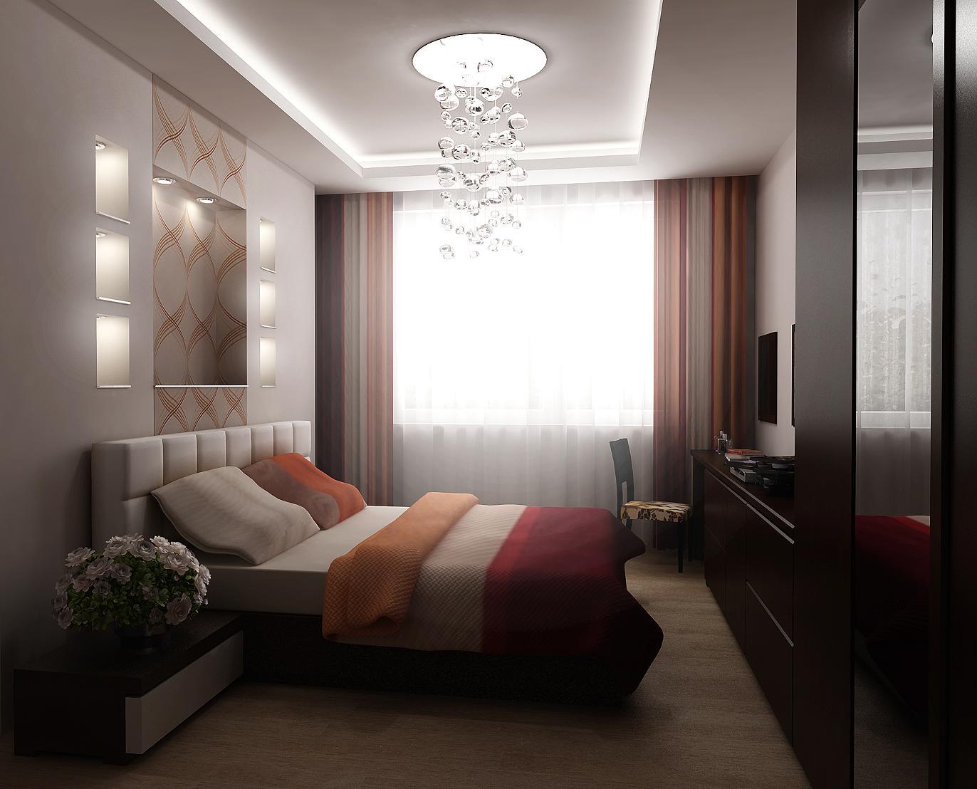 Комната прямоугольной планировки