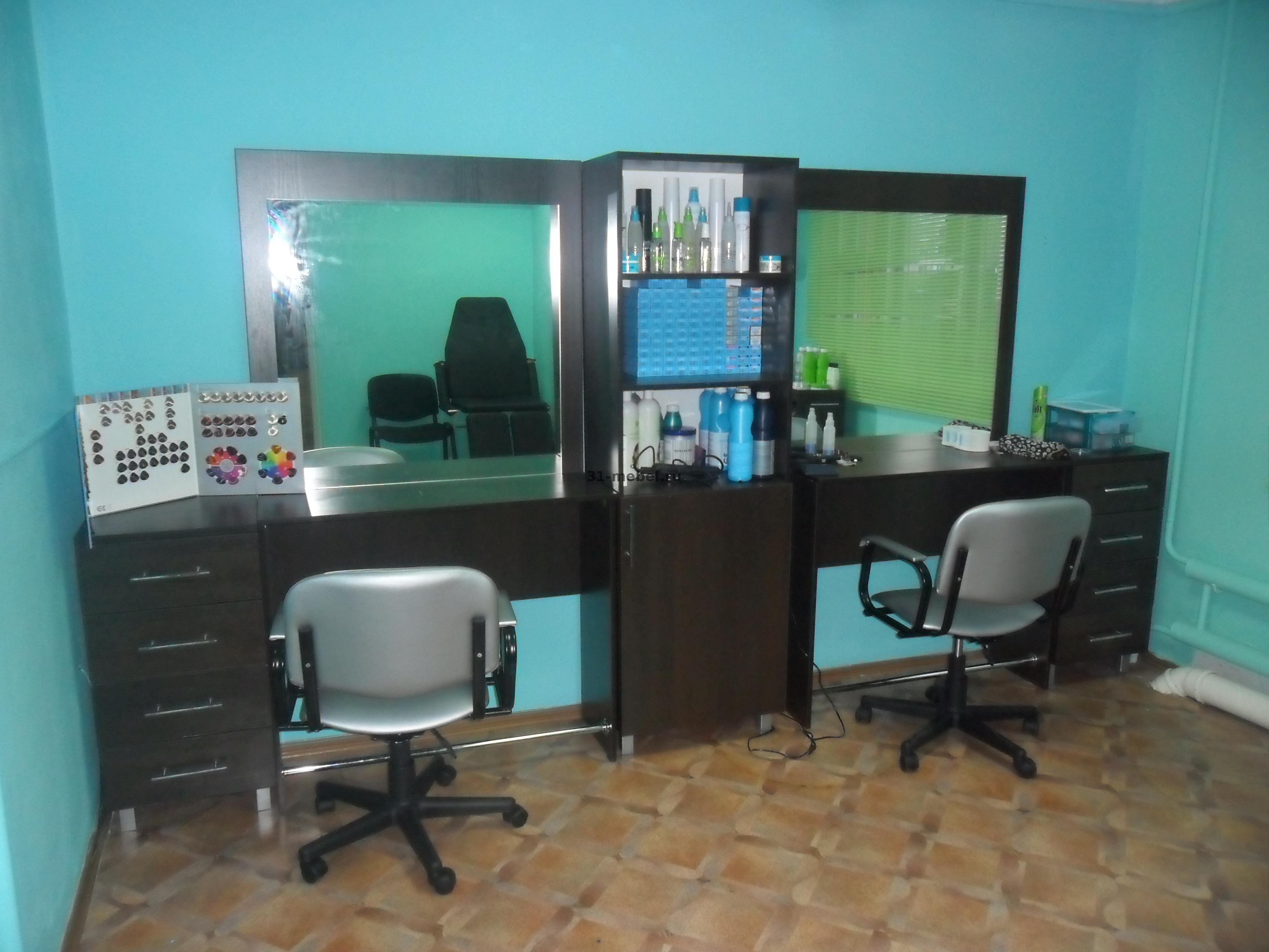 Компактная мебель для парикмахера
