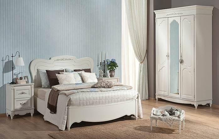 Комплект мебели для спальни белого цвета