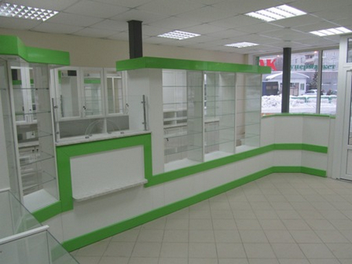 Корпусная мебель для магазина
