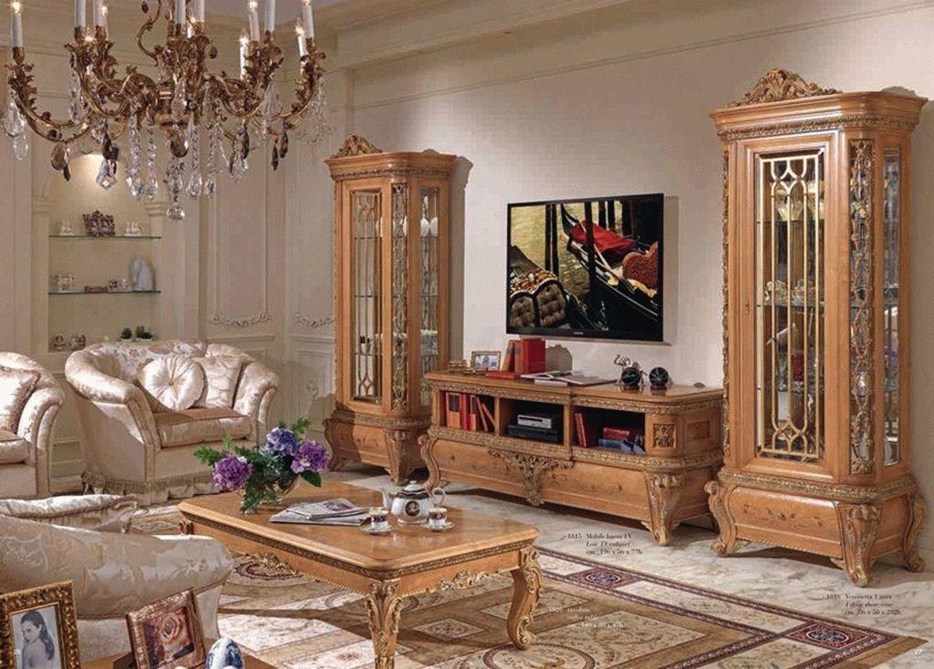 Корпусная мебель для шикарной гостиной
