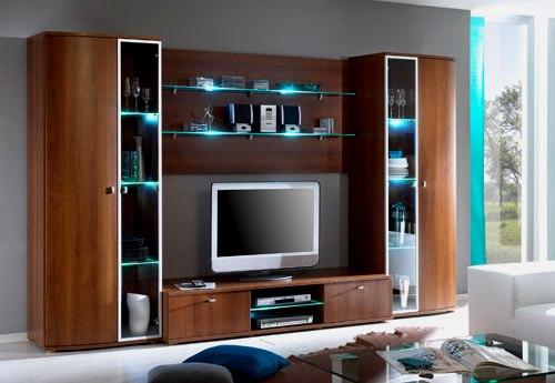 Корпусная мебель с подсветкой