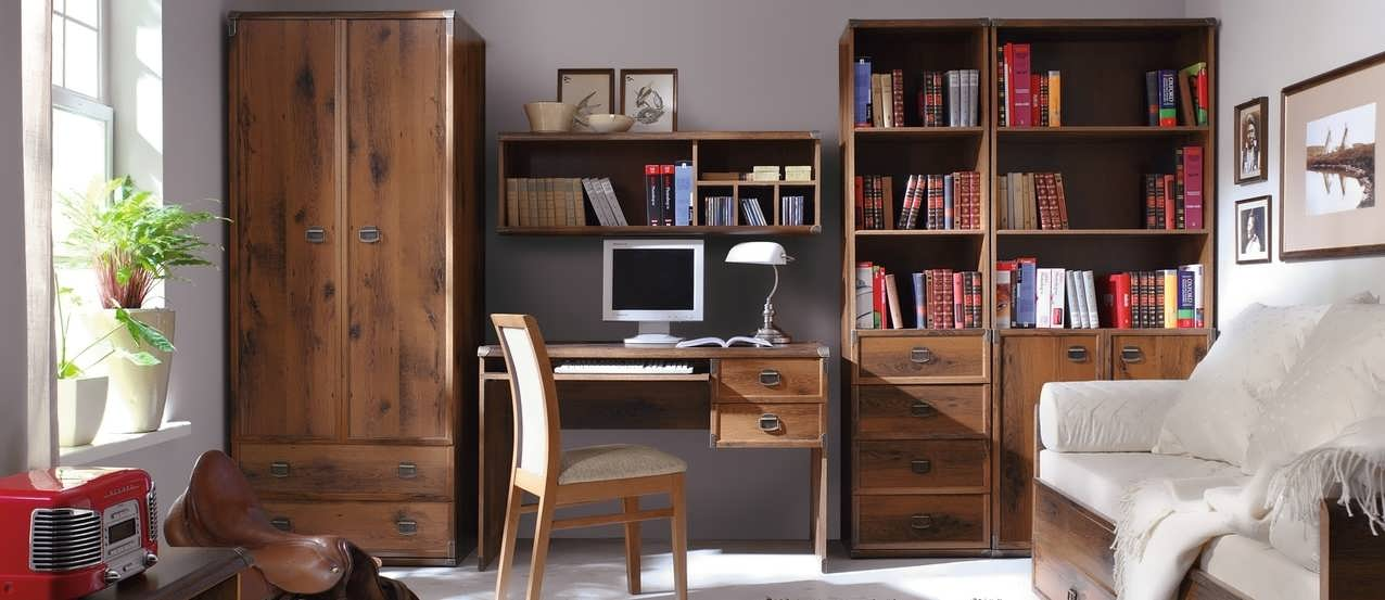Корпусной шкаф для кабинета в квартире