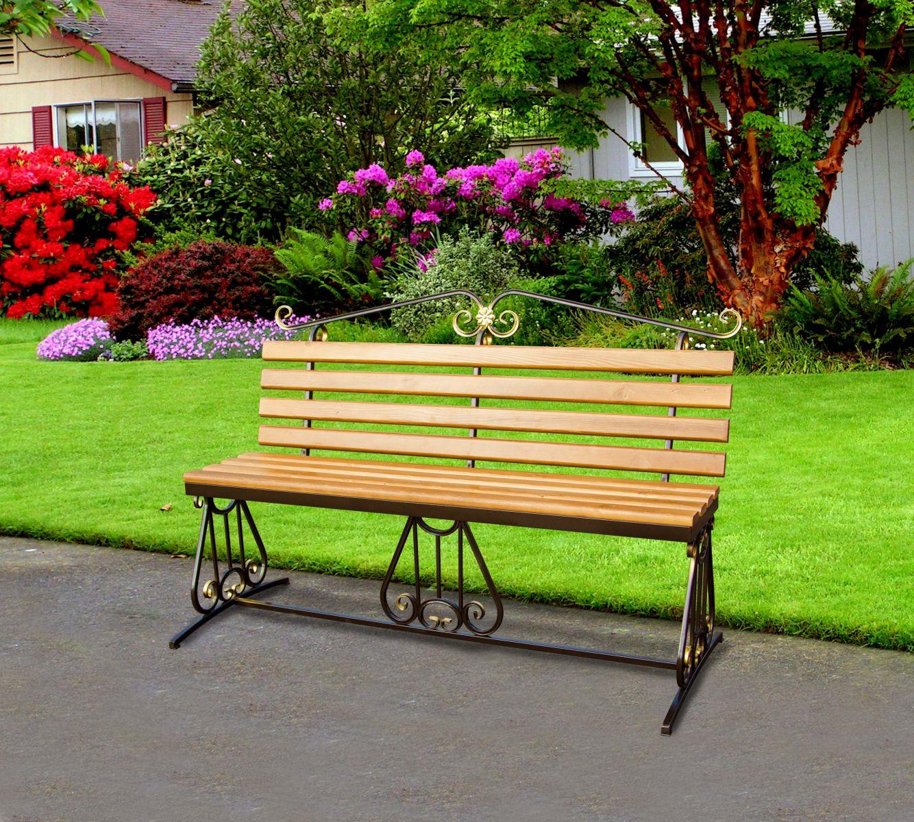 Кованая садовая мебель для сада и дачи