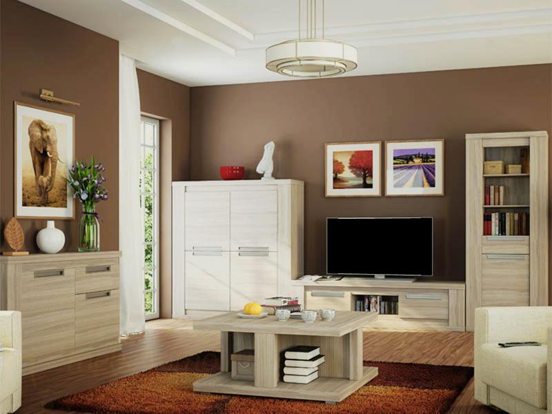 Красивая белая мебель для дома