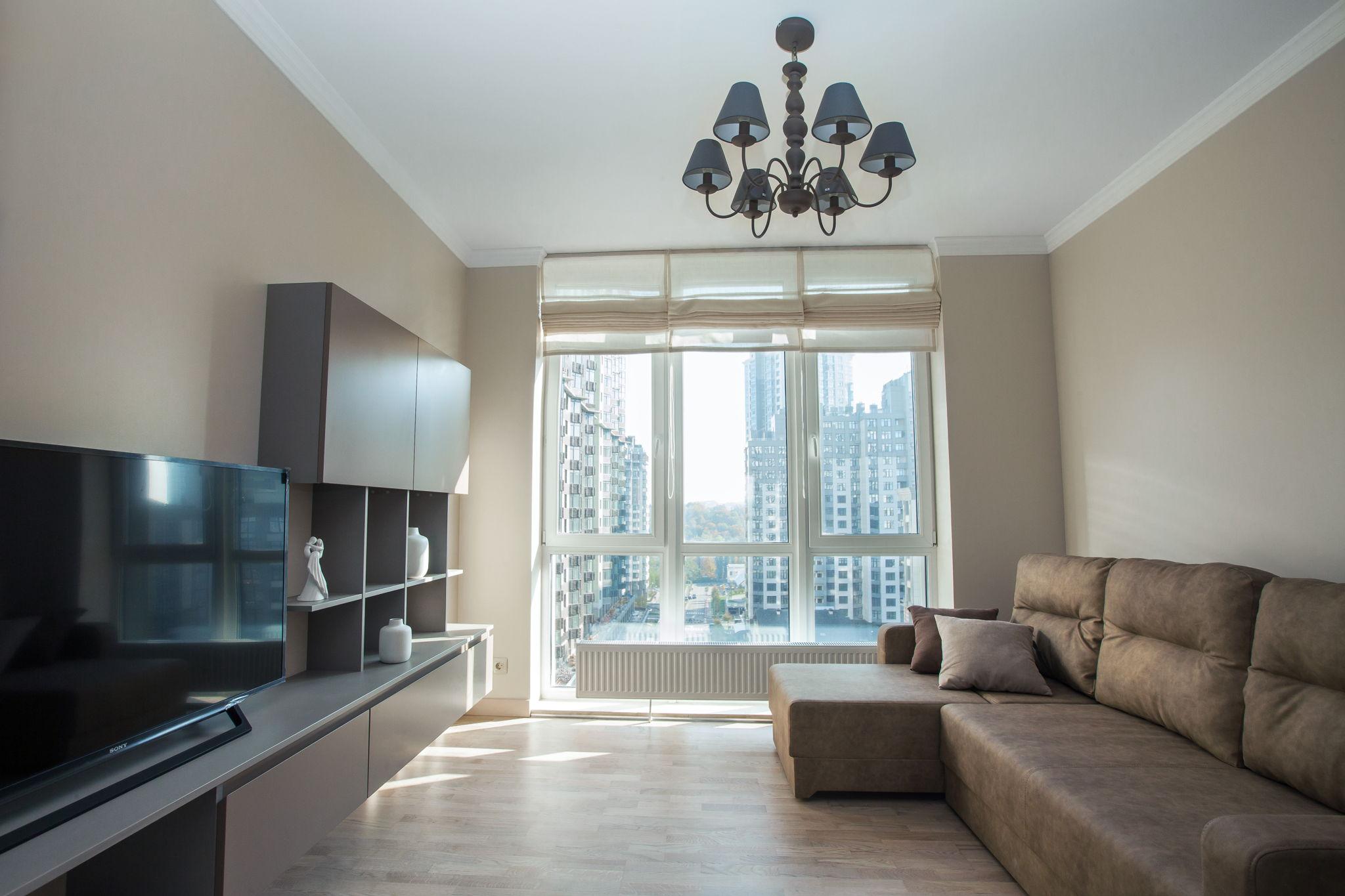 Красивая квартира с приятным интерьером