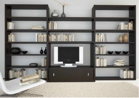 Красивая темная мебель