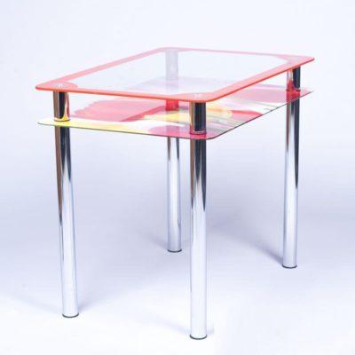Красные элементы на мебели