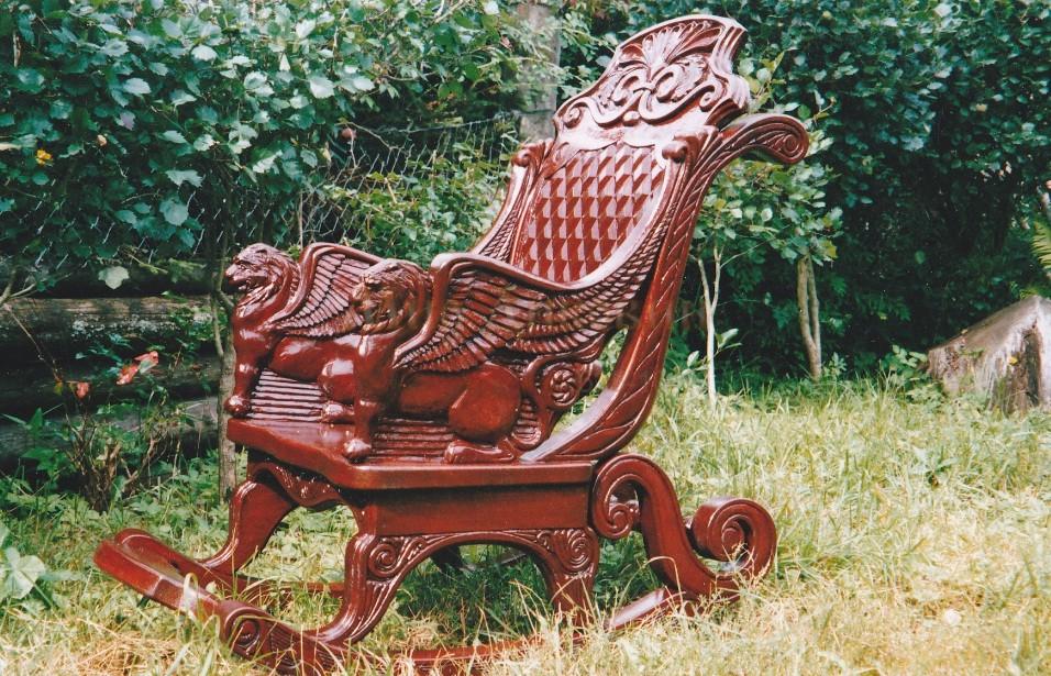 Кресло ручной работы