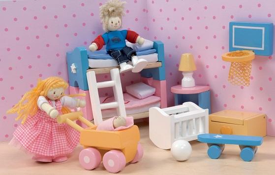 Кровать для игр ребенка