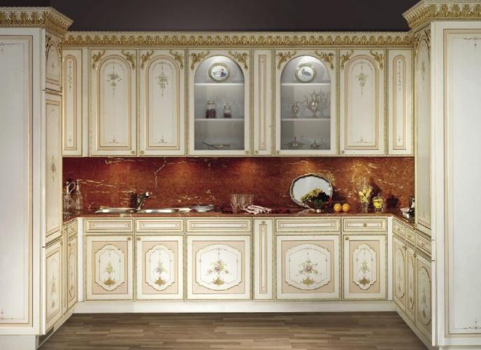 Кухонная мебель классика из Италии