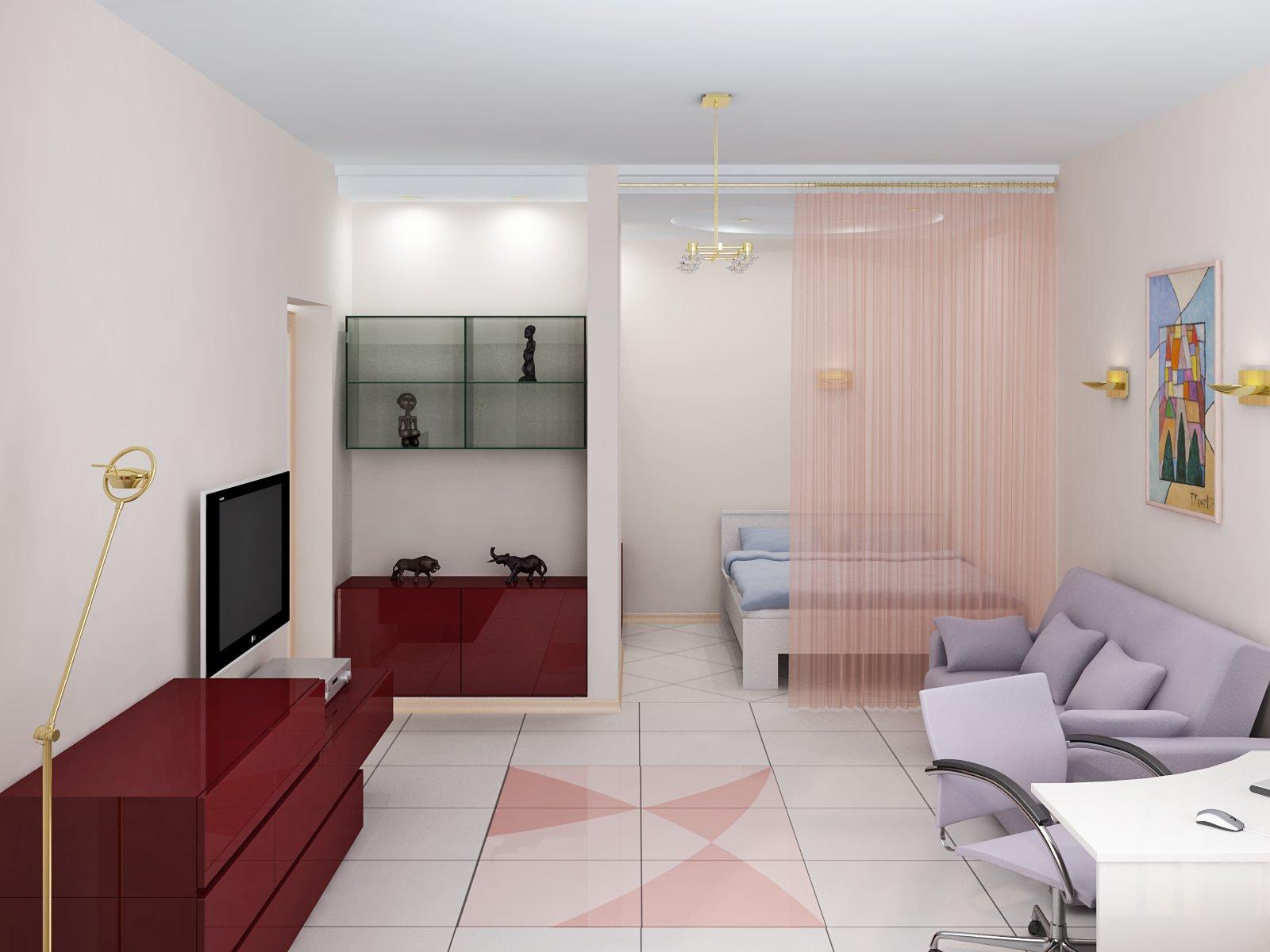 Квартира в светлых тонах