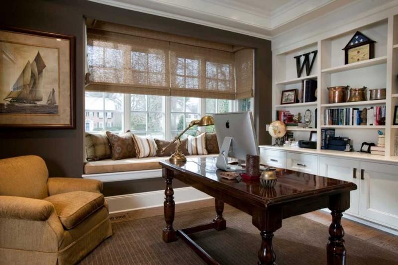 Личный кабинет с мягким диваном