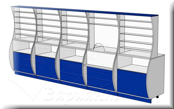 Мебель для кассы-витрины
