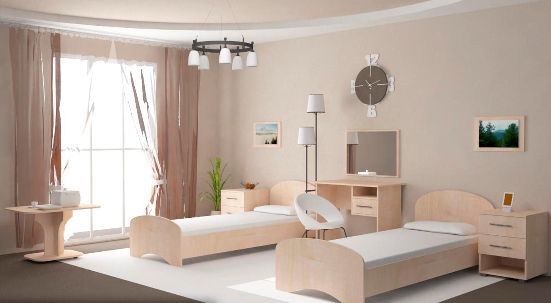 Мебель для обустройства гостиницы