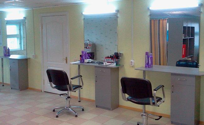 Мебель для парикмахерских на основе МДФ